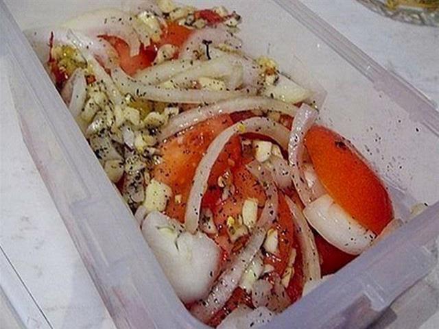 Закуски из маринованных помидоров рецепты