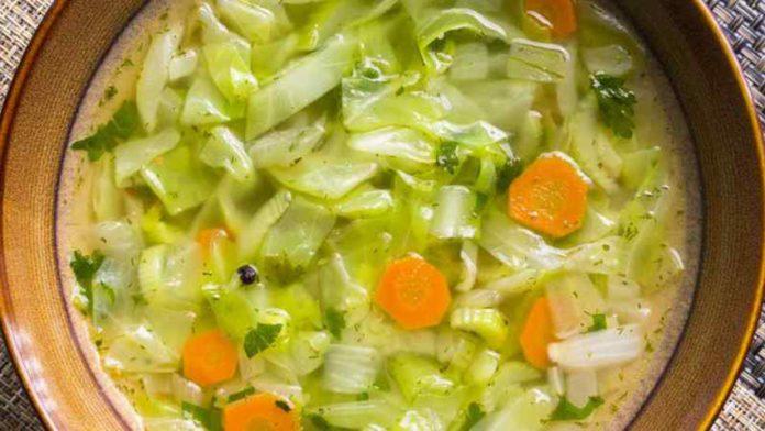 Диетический капустный суп - Диеты для похудения и