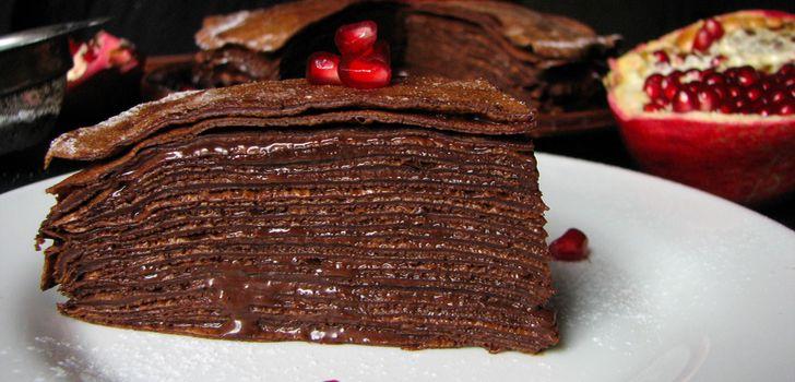 лёгкий шоколадный торт рецепт с фото