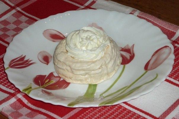 Белковый крем для корзиночек рецепт