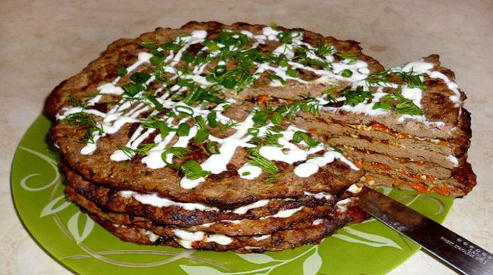Печеночный торт рецепт с фото пошагово из куриной печени