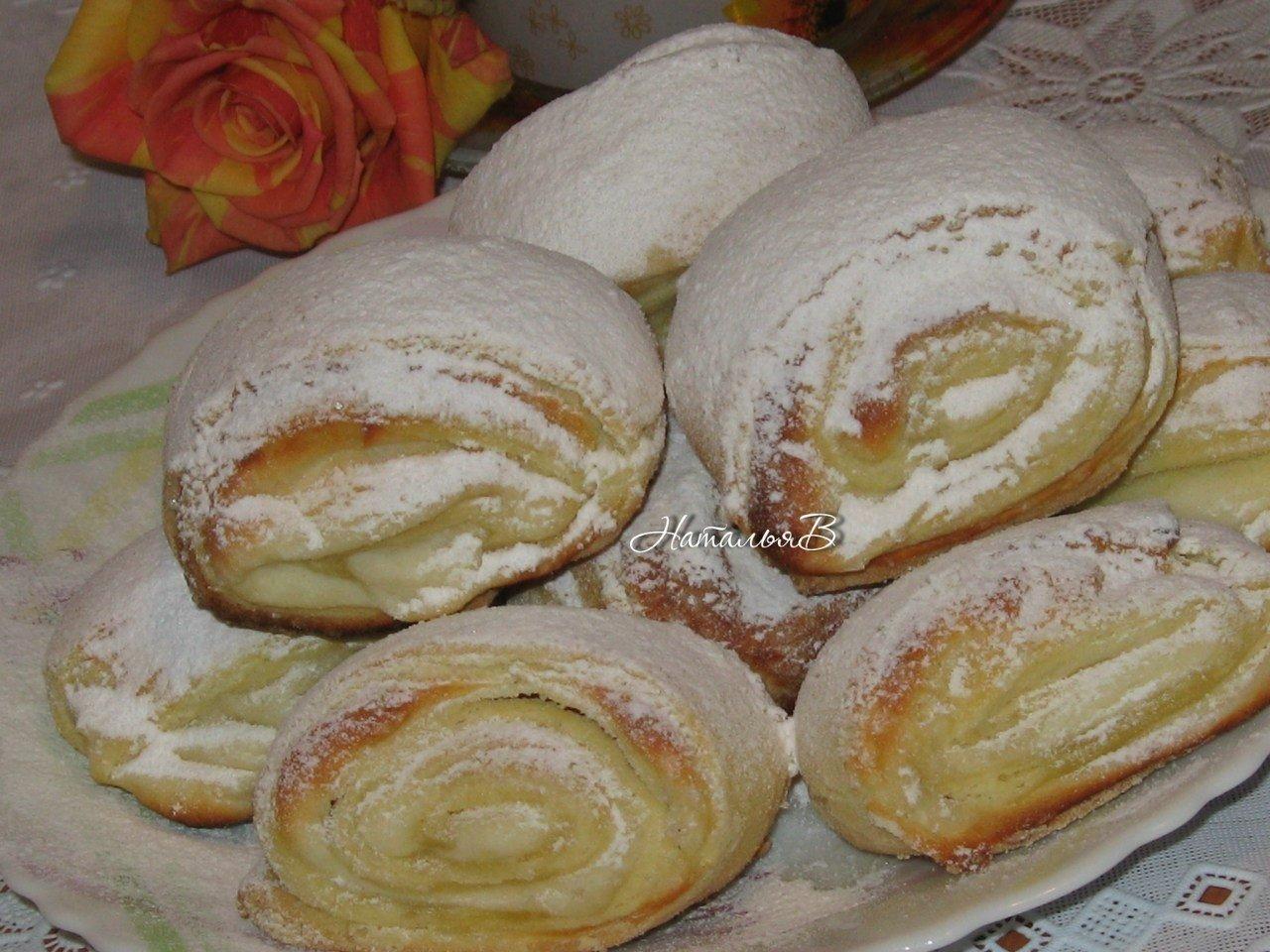 Печенье Бананы с творожной начинкой, пошаговый рецепт с фото 60